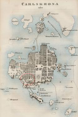 Karta över Karlskrona (1850), Wikipedia